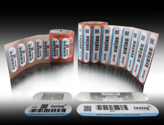 Range of warehouse labels from inotec